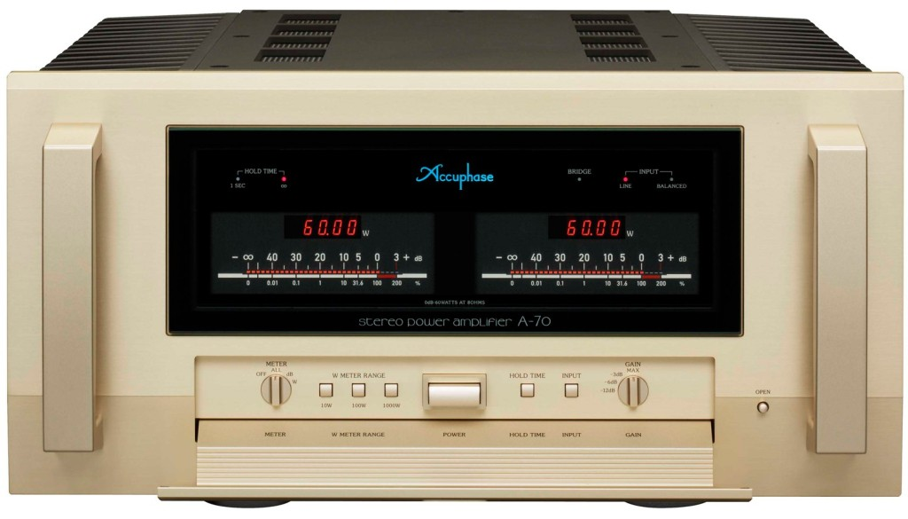 Accuphase A70 front Audioelite